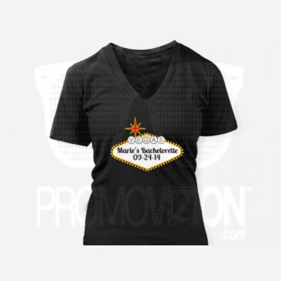 las vegas sign custom t shirt
