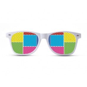 Color Blocks Sunglasses