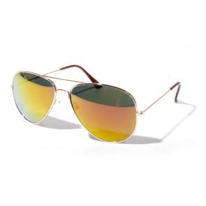 Gold aviator shades
