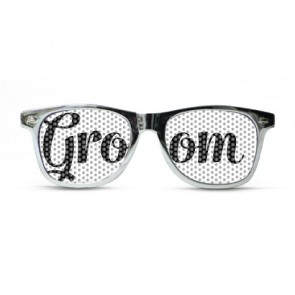 Groom Metallic Chic Silver