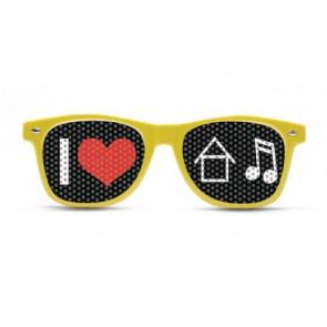 I heart House music, Rave shades