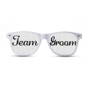 Team Groom Script Sunglasses