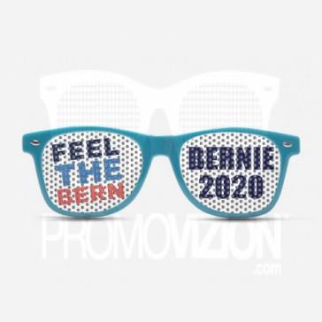 FEEL THE BURN BERNIE Sunglasses - Blue