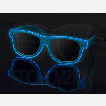 Blue on Blue - LightUp™ Sunglasses