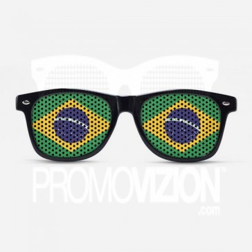 Brazil Flag Sunglasses