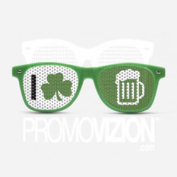 Shamrock Beer Sunglasses