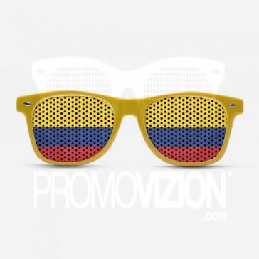 Colombia Flag Sunglasses