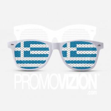 Greek Flag Sunglasses
