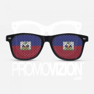 Haiti Flag Sunglasses