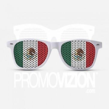 Mexico Flag Sunglasses