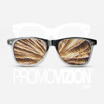 Fireworks Silver Sunglasses