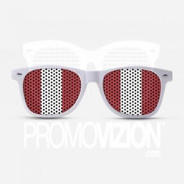 Peru Flag Sunglasses