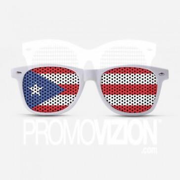 Puerto Rico Flag Sunglasses