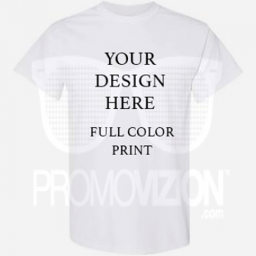 Promo T-shirt Full Color DTG Print