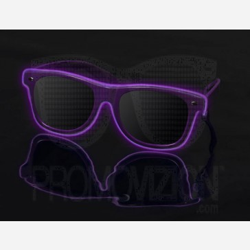 Purple on Purple - LightUp™ Sunglasses