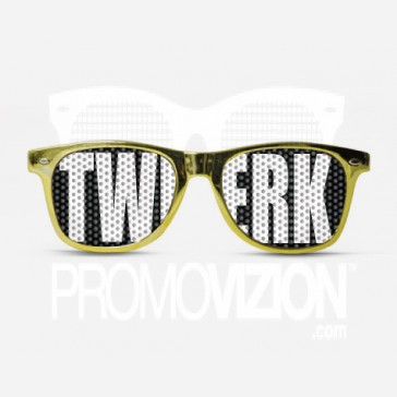 TWERK GOLD Sunglasses