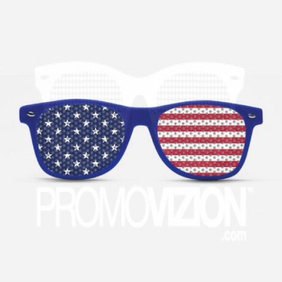 7d35a432190 USA Flag Sunglasses