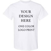 Promo T-shirt 1 Color Logo