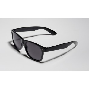 Matte Black Shaded Sunglasses
