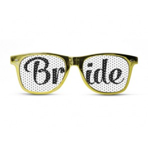 Bride Metallic Chic Gold Sunglasses