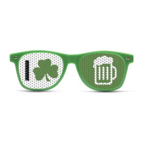 Shamrock Beer Sunglasses