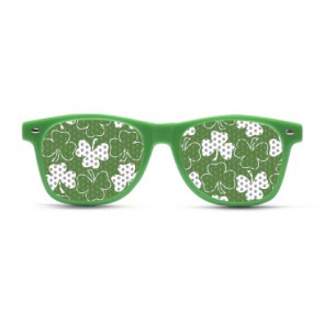 Shamrock Pattern Sunglasses