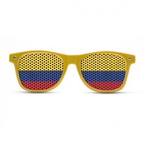 Colombia Flag Sunglasses