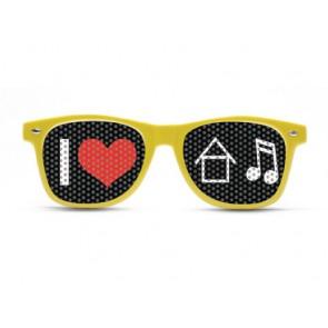 I heart House music, Rave shades