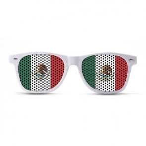 Mexico Flag Sunglasses