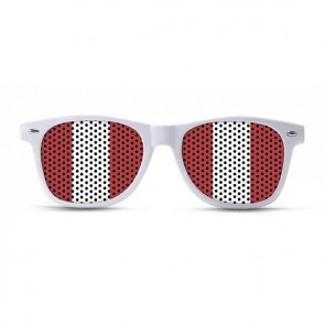 Peru Flag Sunglasses