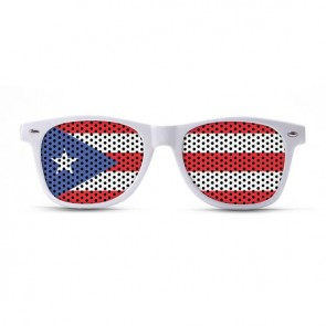 Puerto Rico Flag Sunglasses